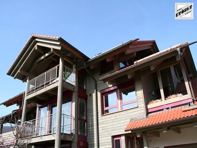 Sie sehen Bilder aus dem Artikel: Holzhaus - Fassade