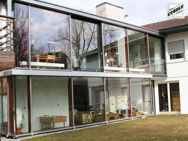Sie sehen Bilder aus dem Artikel: Wintergarten / Fassaden