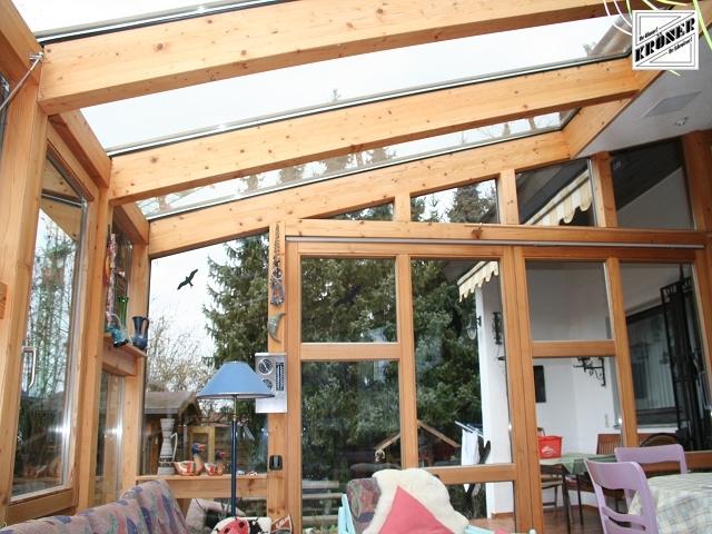 Sie sehen Bilder aus dem Artikel: Wintergarten Innenansicht