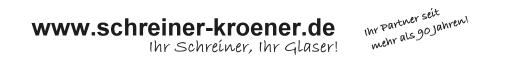 Schreiner Kröner -  Gingen / Fils - Ihr Schreiner, Glaser, Restaurator! Handwerkliche Perfektion ist unser Anspruch.